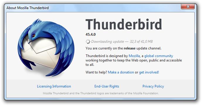 Como configurar seu email no Thunderbird